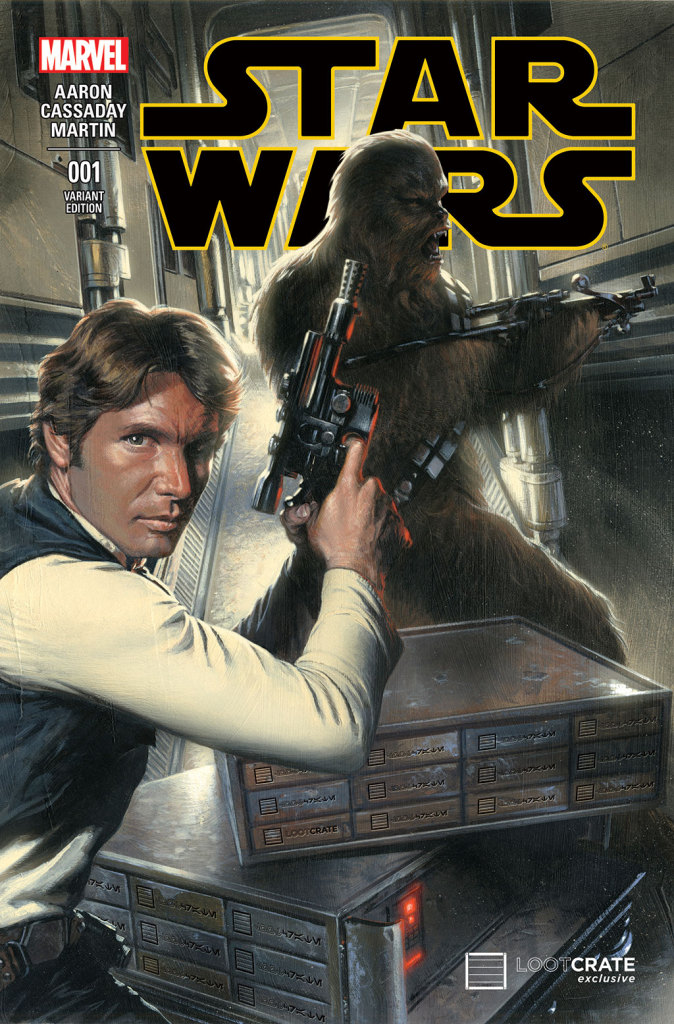 Loot Crate's Star Wars #1 variant cover