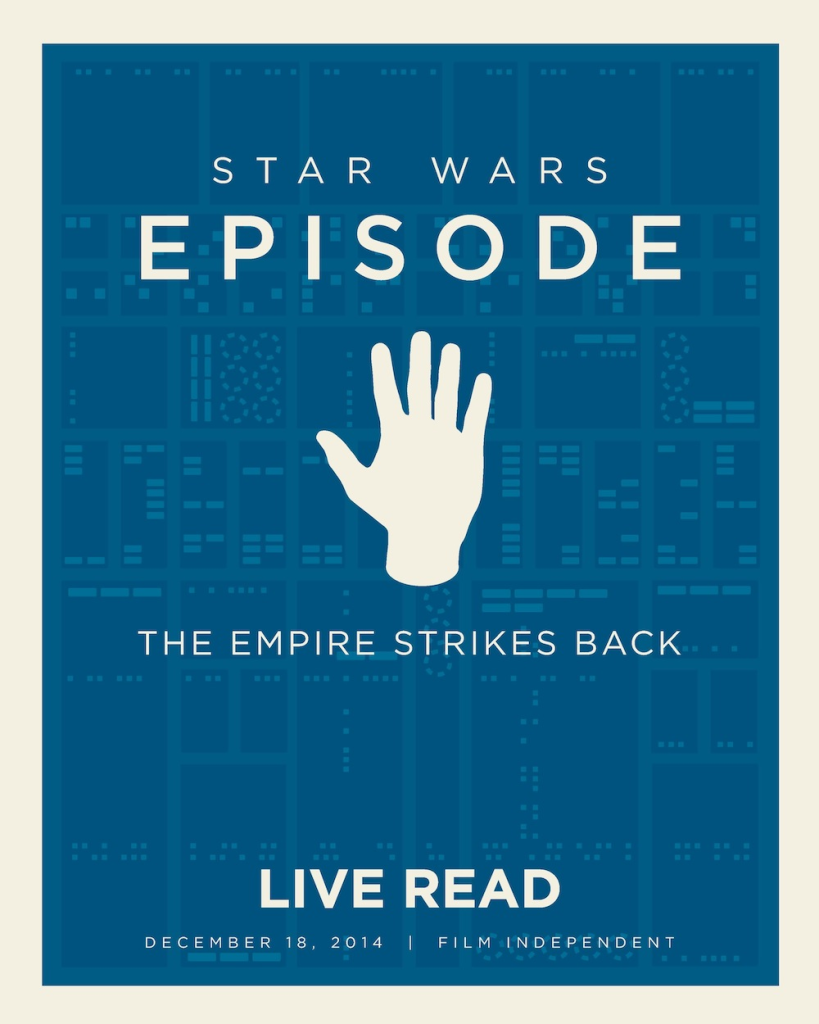 The Empire Strikes Back Live Read poster