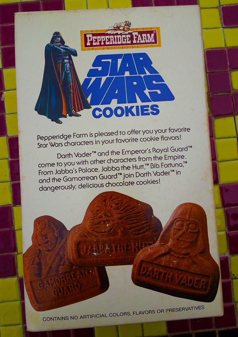 Star Wars Cookies box 2