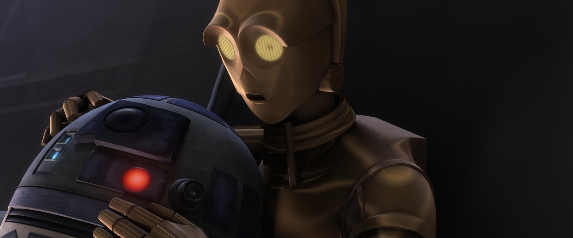 R2 and Threepio