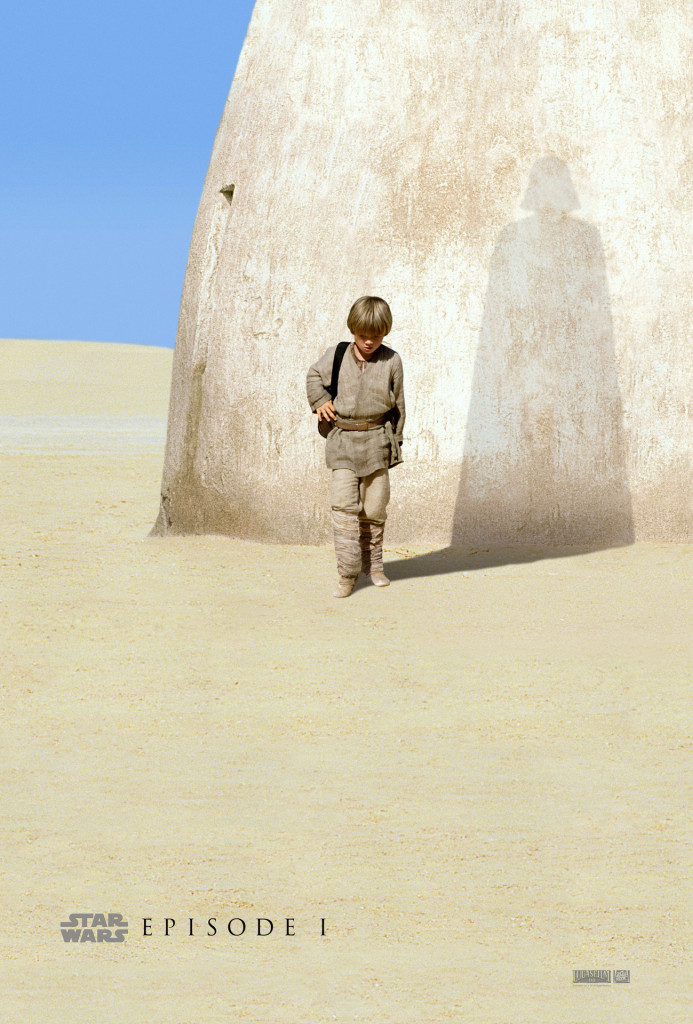 Young Anakin Skywalker teaser poster for The Phantom Menace