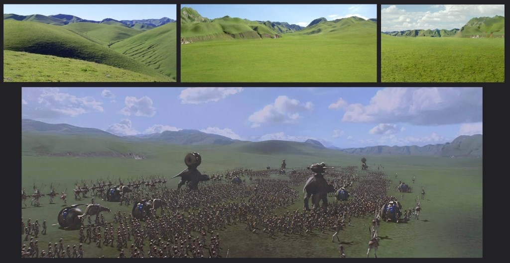 The Livermore hills and the Great Grass Plains of Naboo.
