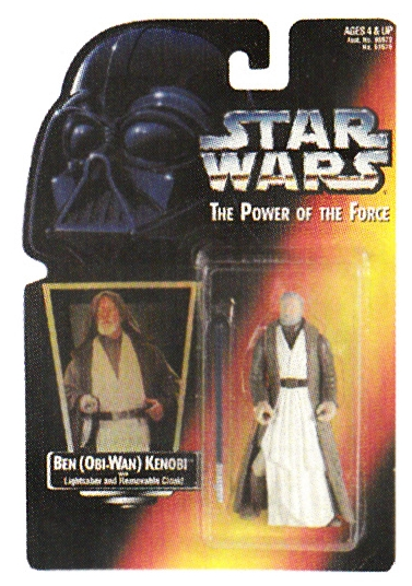 Hasbro action figures - Ben Kenobi