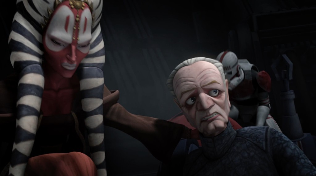 Palpatine and Shaak Ti