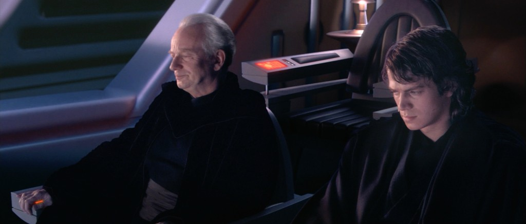 Palpatine and Anakin at Opera