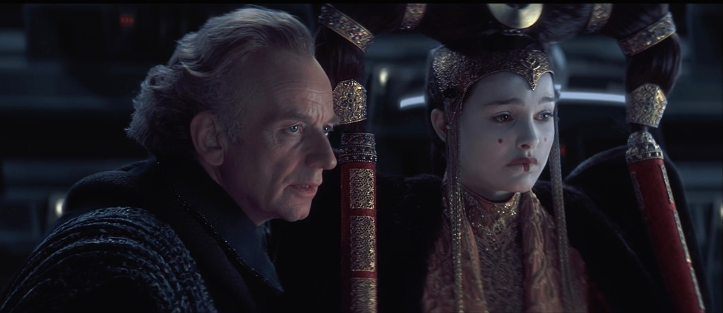 Amidala and Palpatine