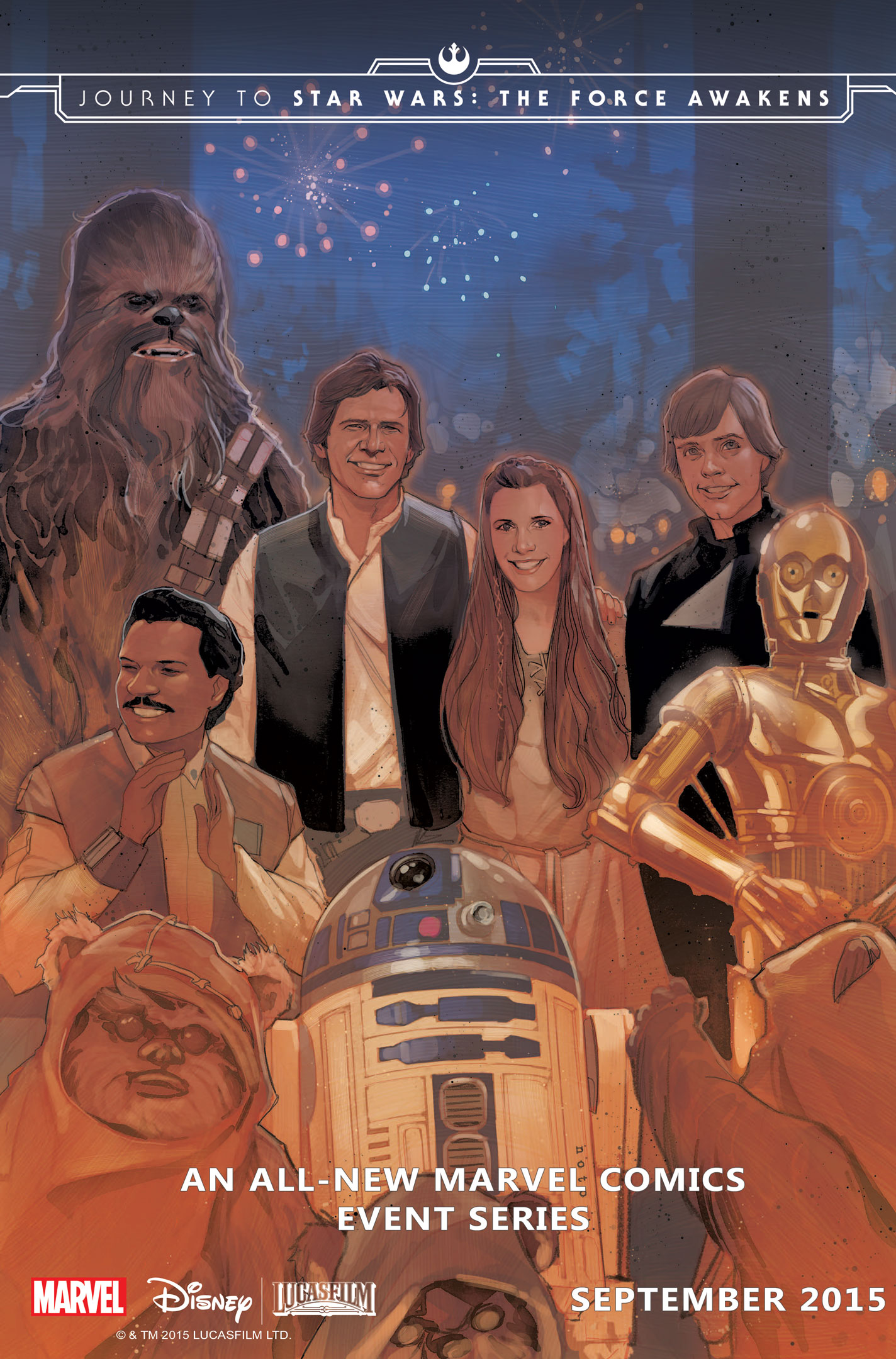 Journey to Star Wars: The Force Awakens - Shattered Empire #1