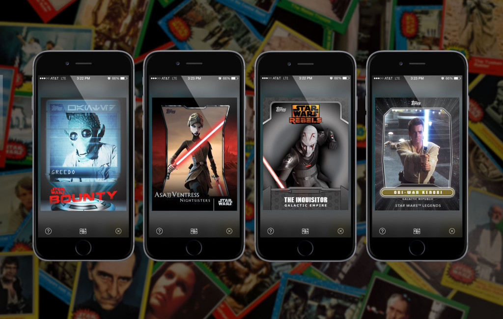 Star Wars: Card Reader app