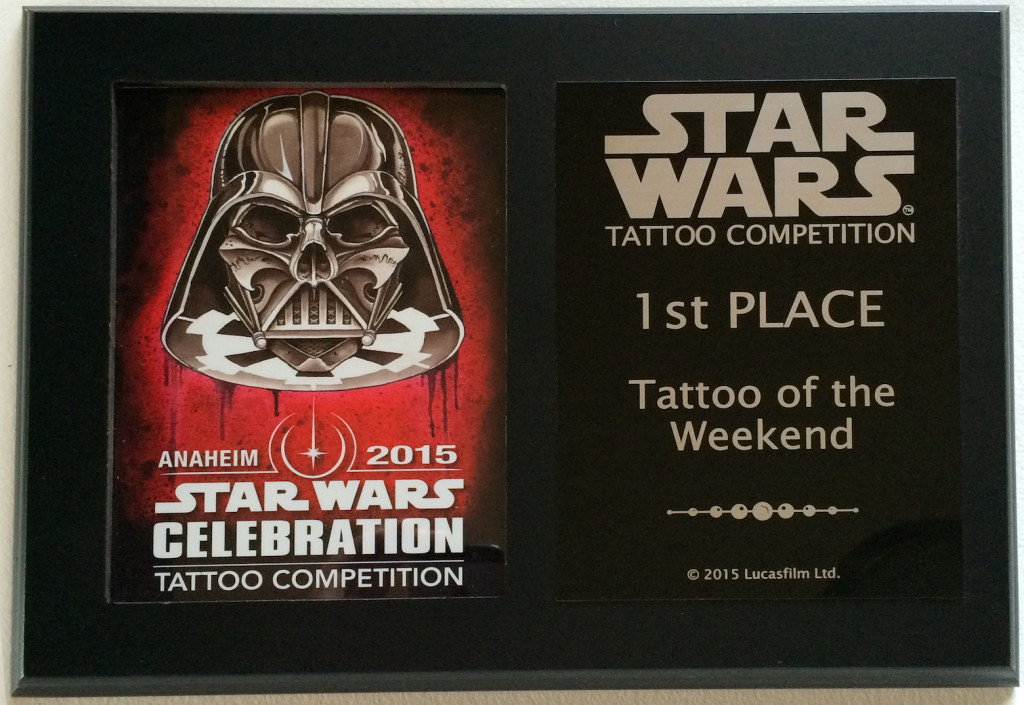 Celebration Tattoo Award