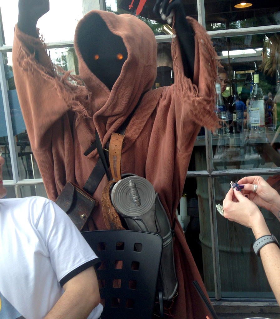 Jawa Trader at Star Wars Weekends