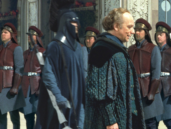The Phantom Menace - Palpatine arrives on Naboo