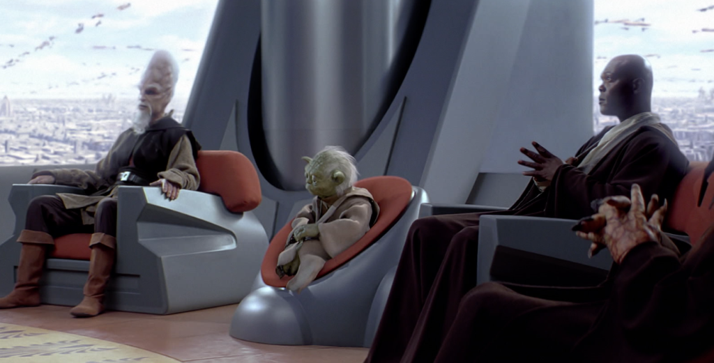 The Phantom Menace - Jedi Council