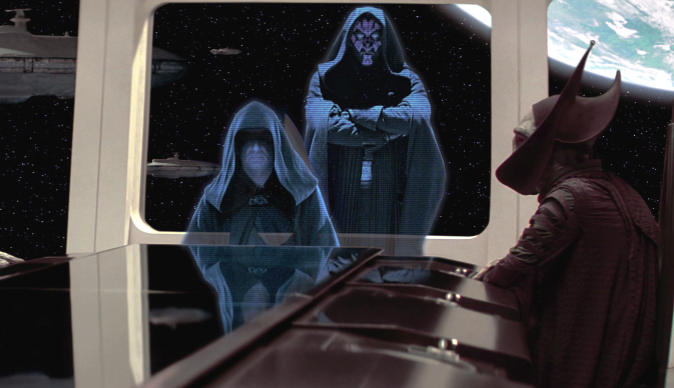 The Phantom Menace - Darth Sidious and Darth Maul