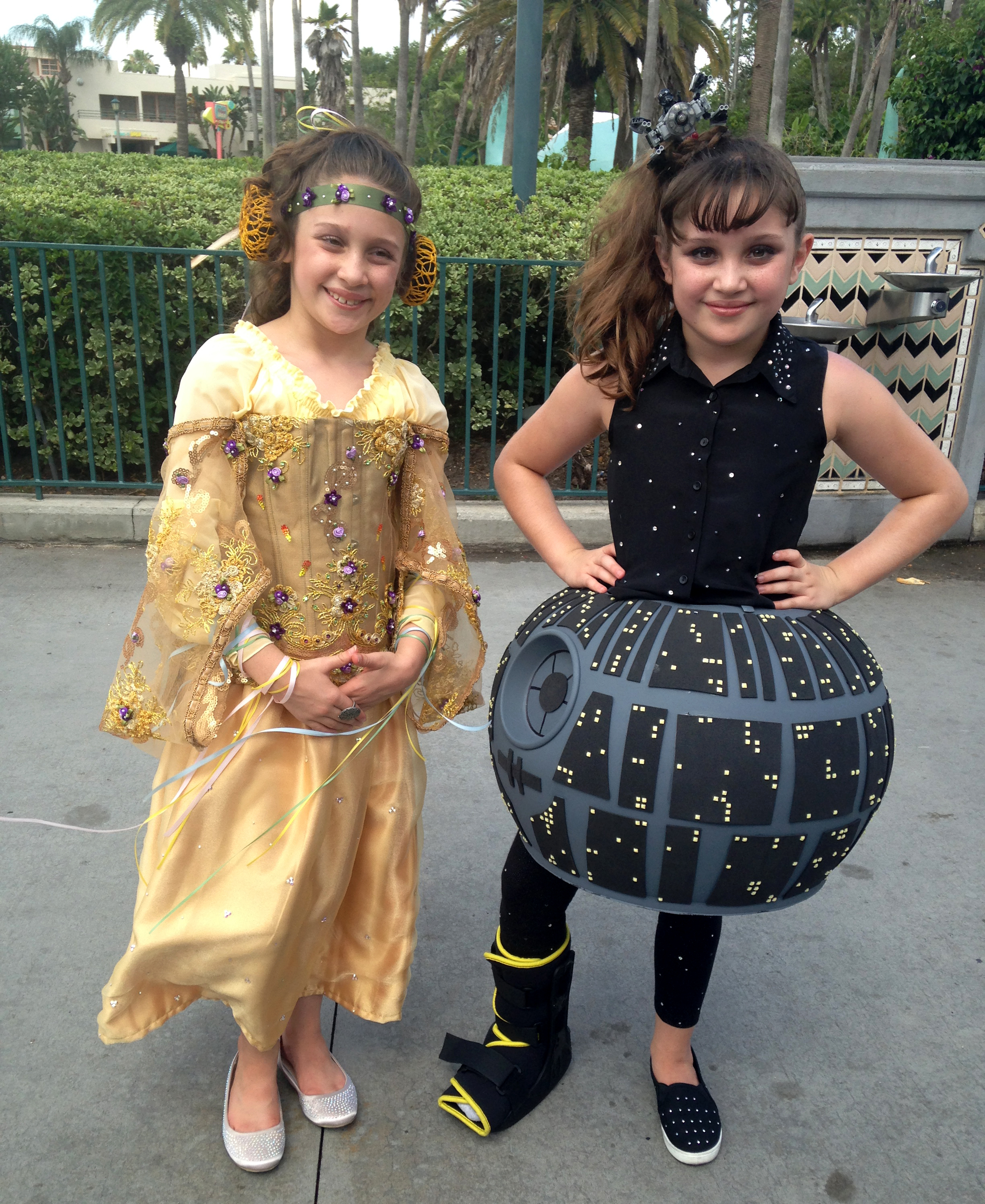 Star Wars costumers at Star Wars Weekends