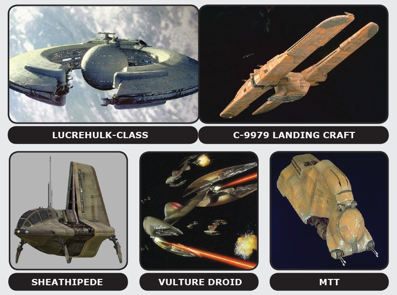 Trade Federation Spacecraft
