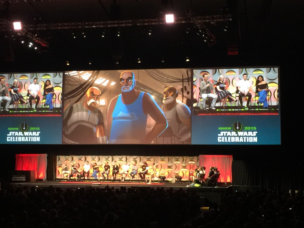 Star Wars Celebration welcomes back Captain Rex.