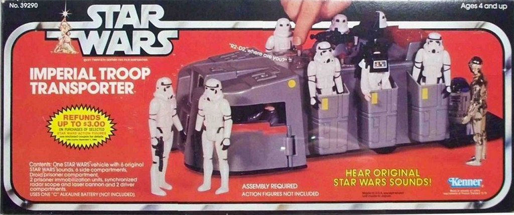 Imperial Troop Transporter Toy