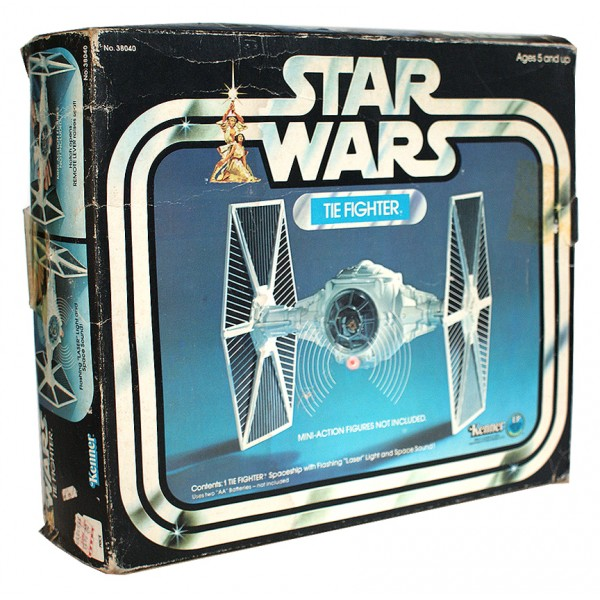 TIE fighter toy box - front