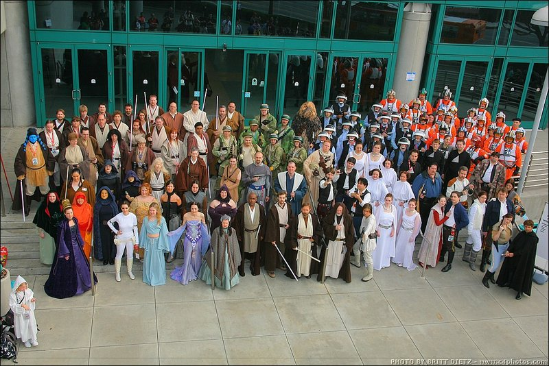 Star Wars costume clubs