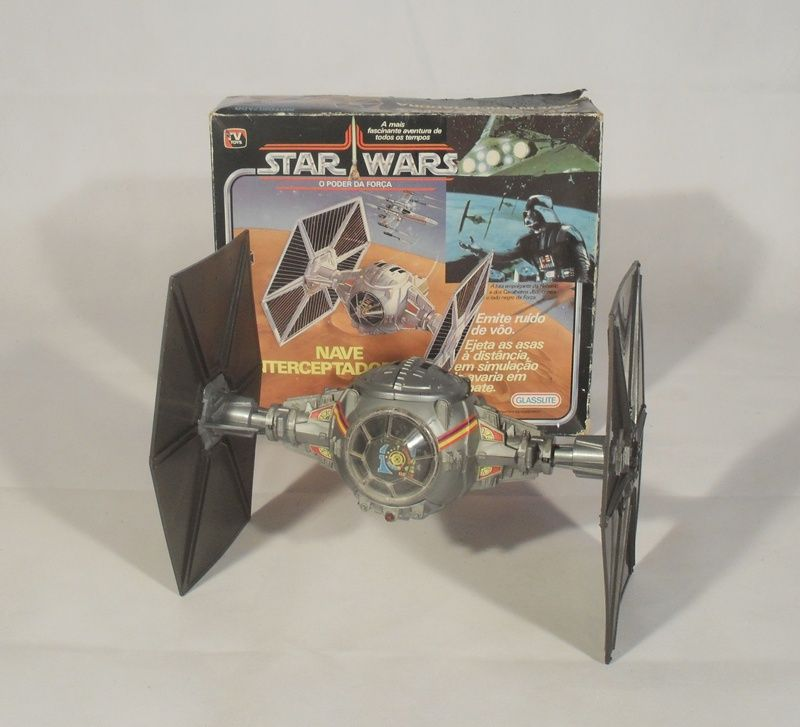 Tie fighter toy - Brazilian release