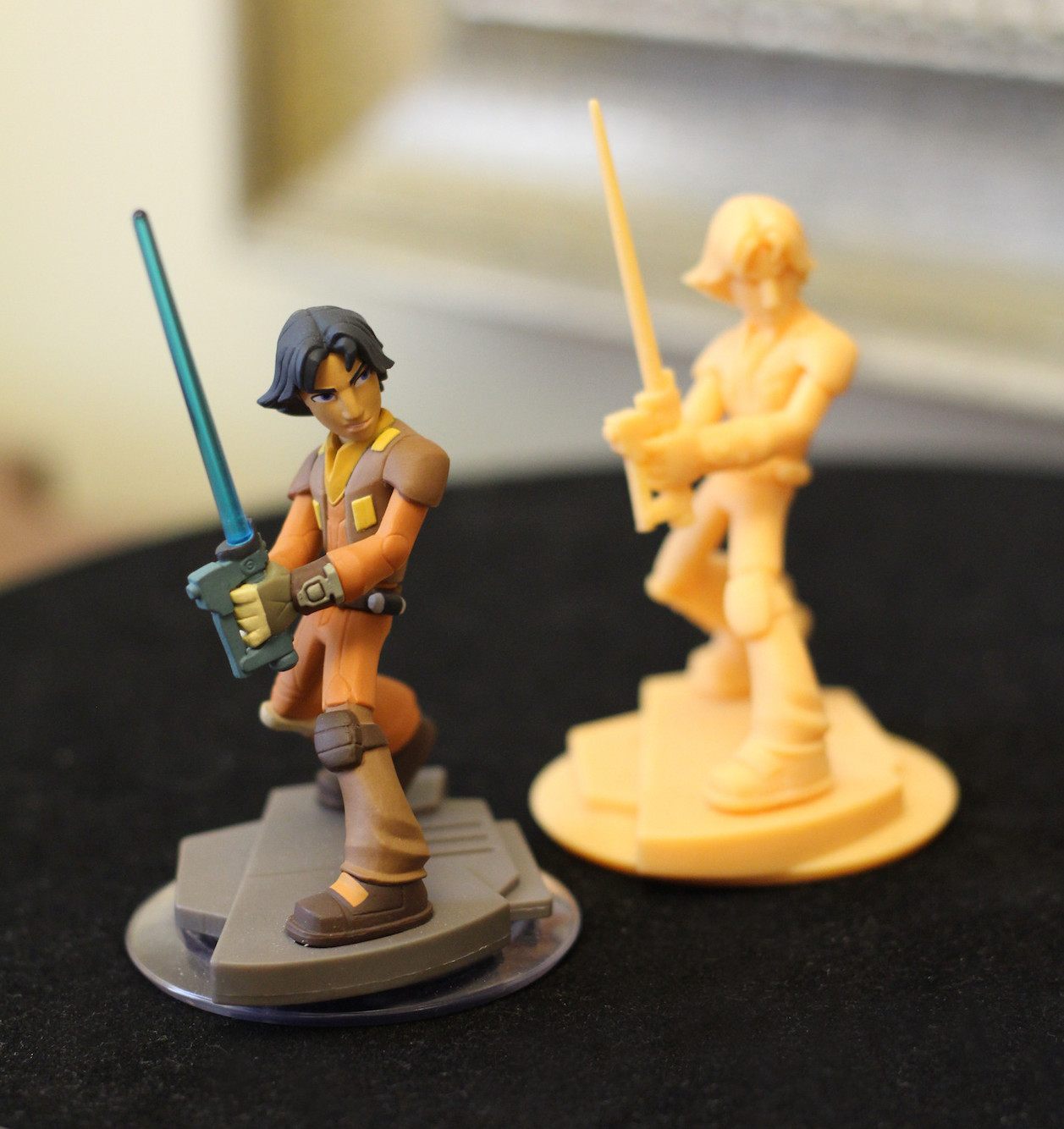 Disney Infinity Ezra with 3D protoype