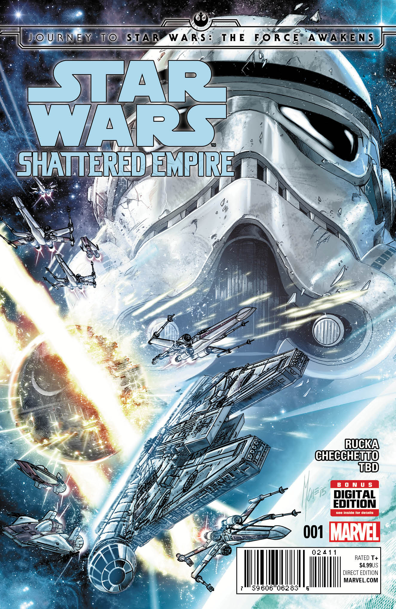 Shattered Empire #1 variant cover