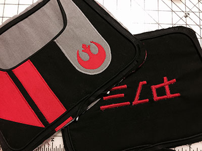 DIY Star Wars: The Force Awakens bag