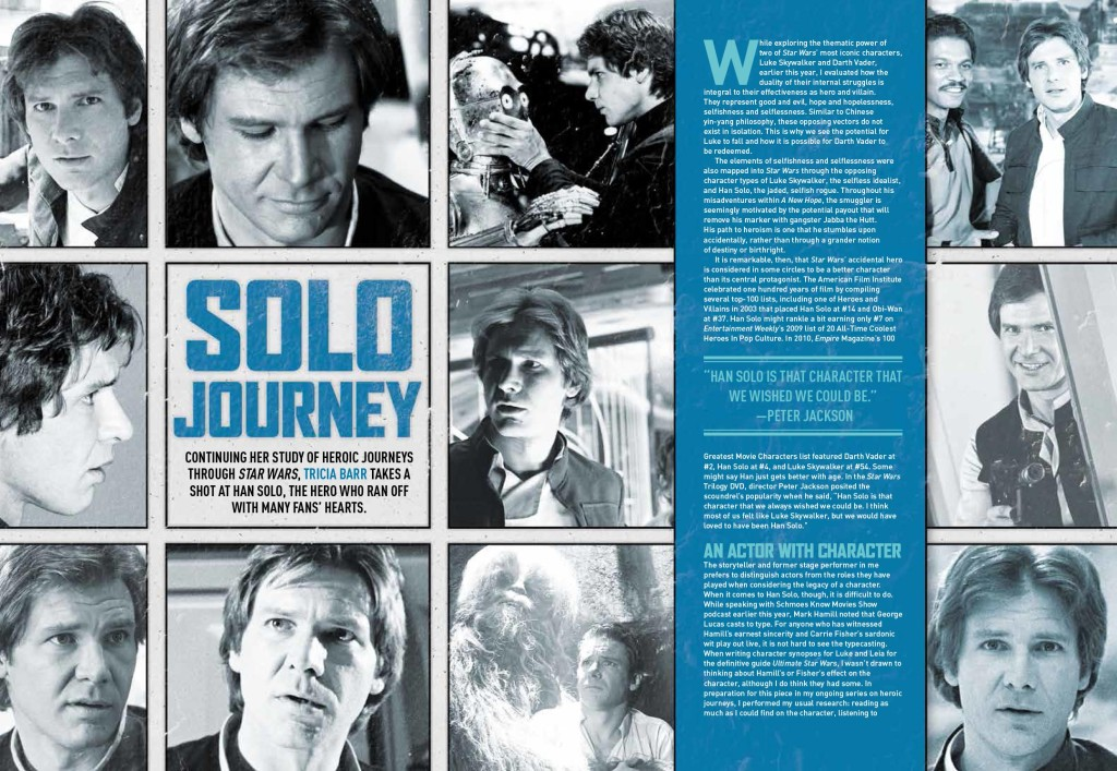 Solo Journey in Star Wars Insider 158