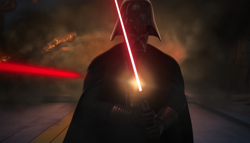 "Darth Vader in Star Wars Rebels ""The Siege of Lothal"""