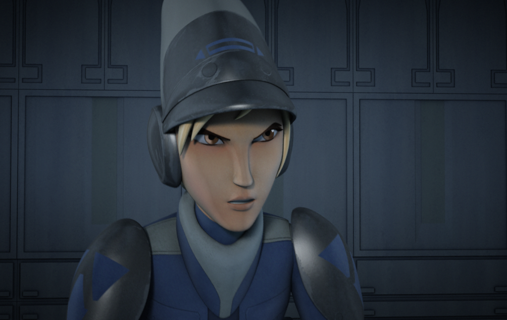 "Minister Tua in Star Wars Rebels ""The Siege of Lothal"""