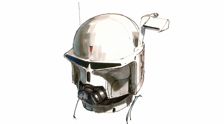 Early supertrooper/Boba Fett concept art