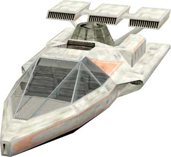 V-35 speeder seen in Episode VI: A New Hope