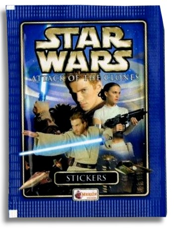 Star Wars: Attack of the Clones - stickers