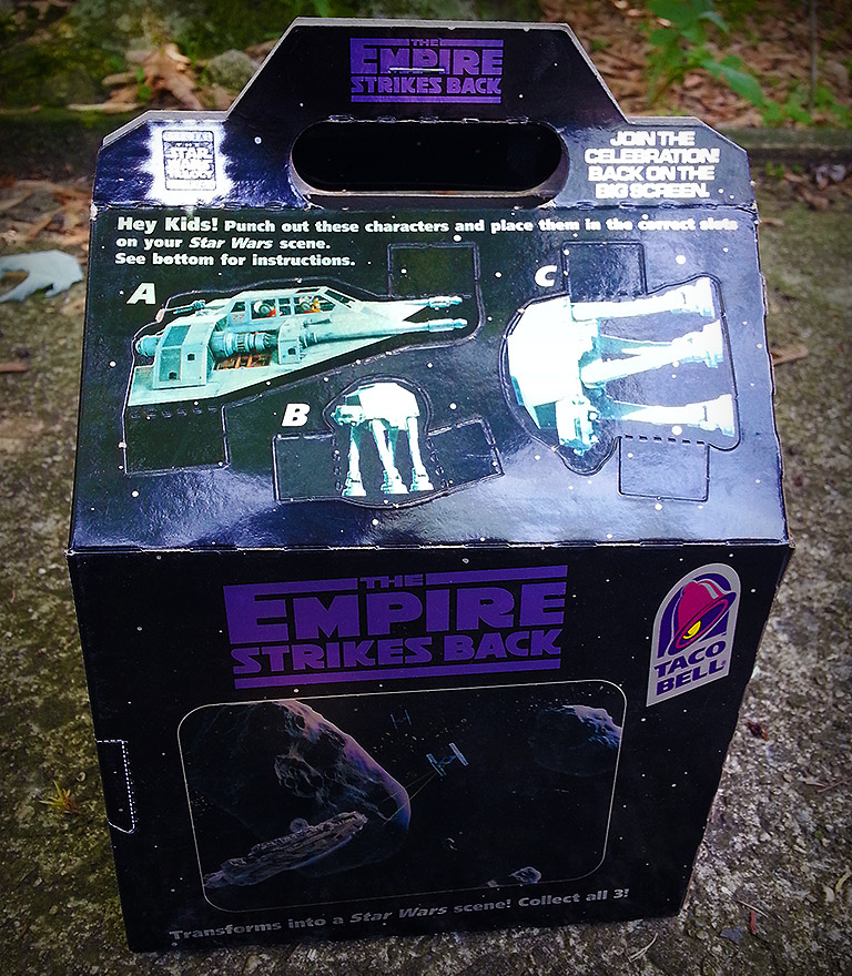 Taco Bell Star Wars package