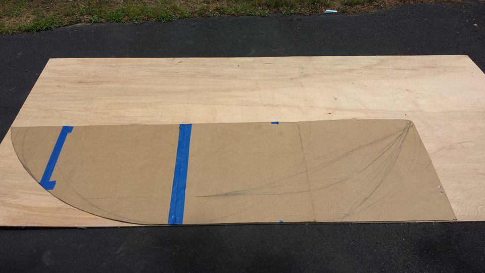 Star Wars speeder project - measurements and wood paneling
