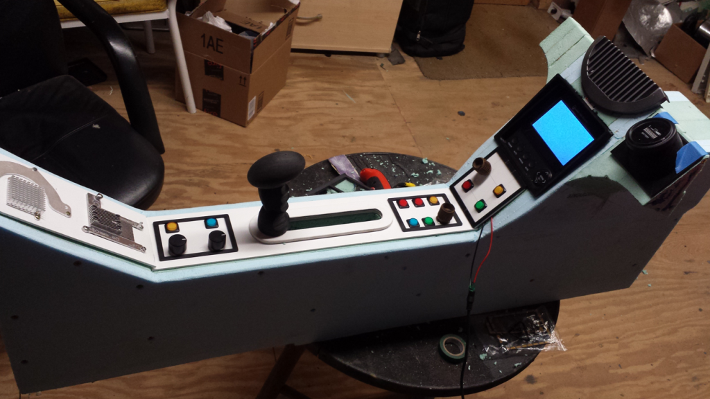 Star Wars speeder project - center console