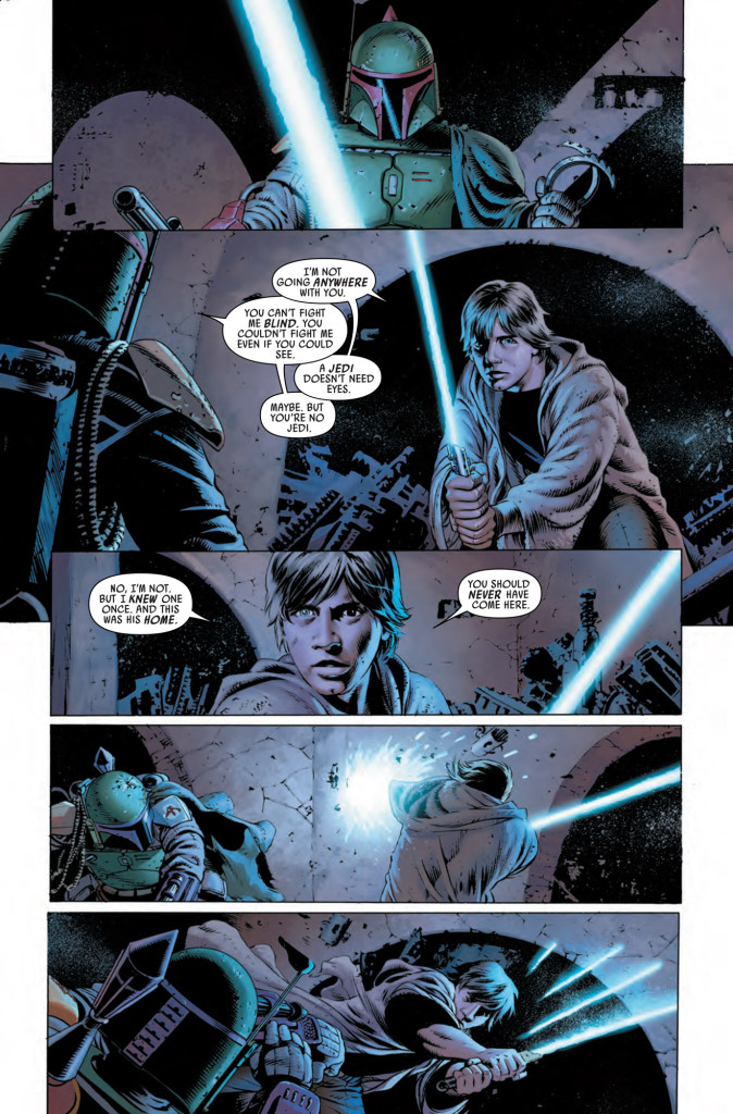 Star Wars #6 - Luke vs. Boba Fett
