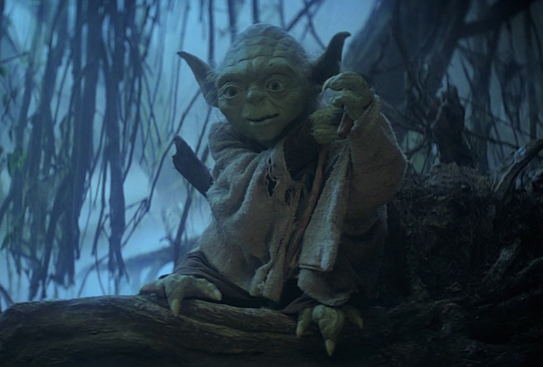 Yoda in The Empire Strikes Back
