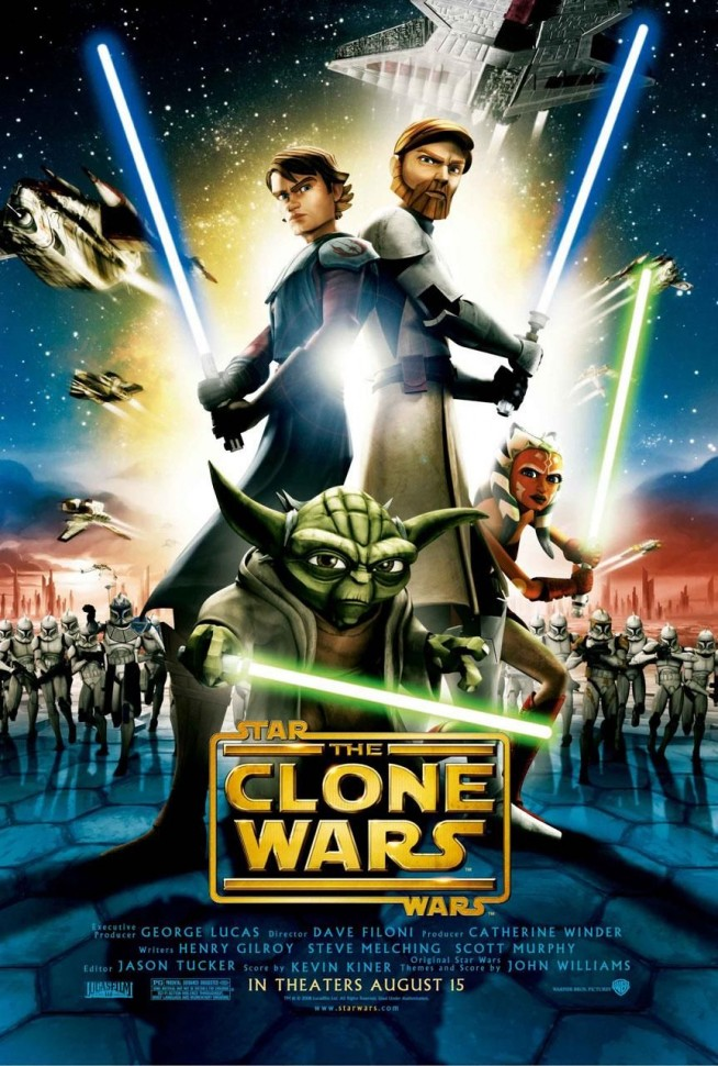 Star Wars: The Clone Wars theatrical poster