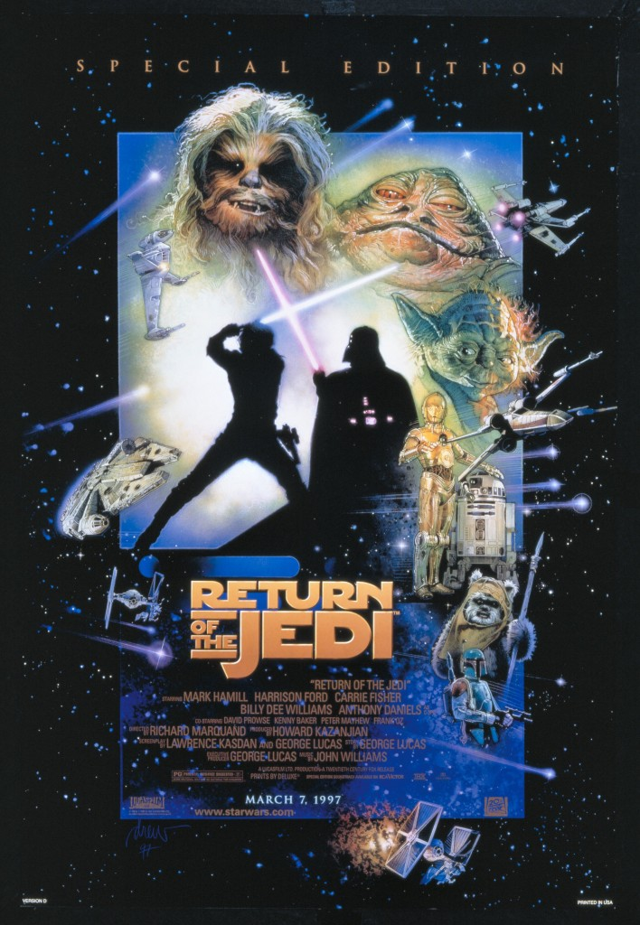 Return of the Jedi special edition poster
