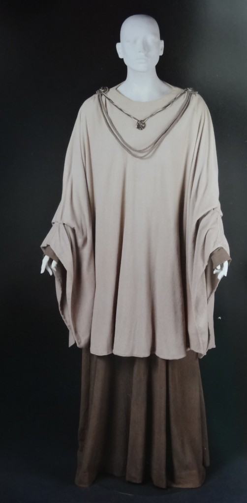 Mon Mothma's costume for Return of the Jedi