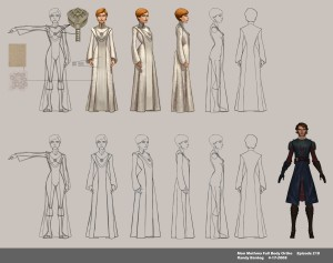 Mon Mothma model image for The Clone Wars