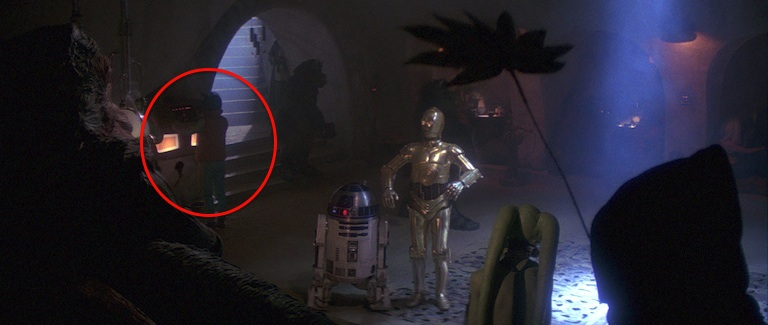 Rodian in Return of the Jedi