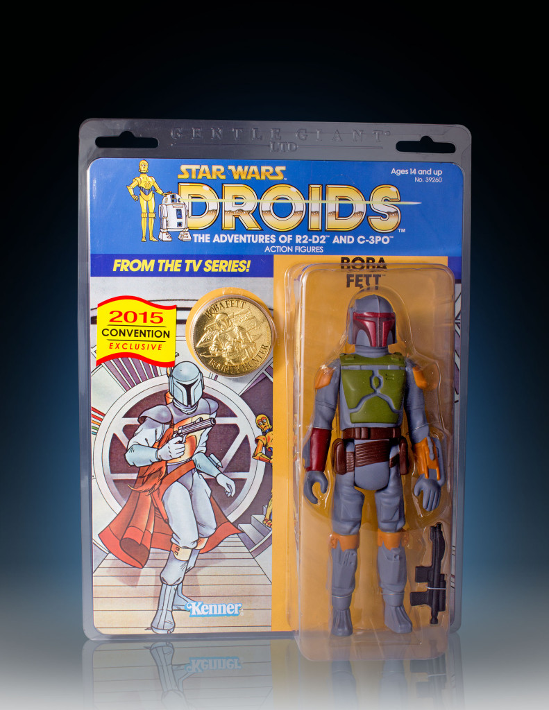 Gentle Giant - Boba Fett action figure packaging