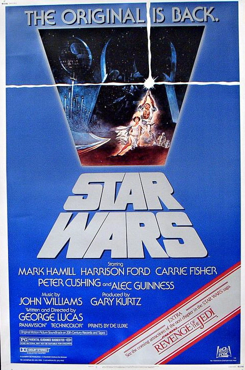 Star Wars re-release poster