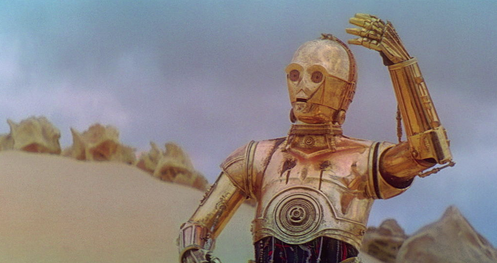 C-3PO on Tatooine