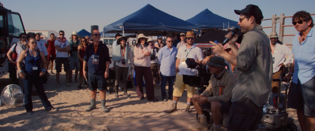 Star Wars: The Force Awakens production crew