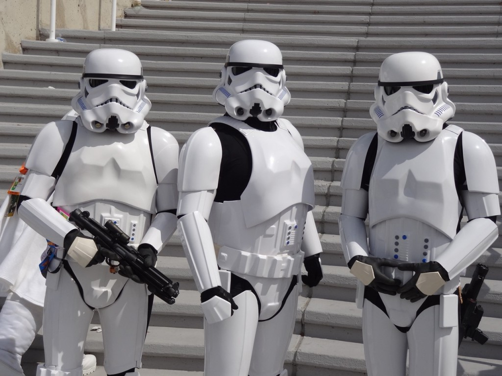 Comic-Con - stormtroopers