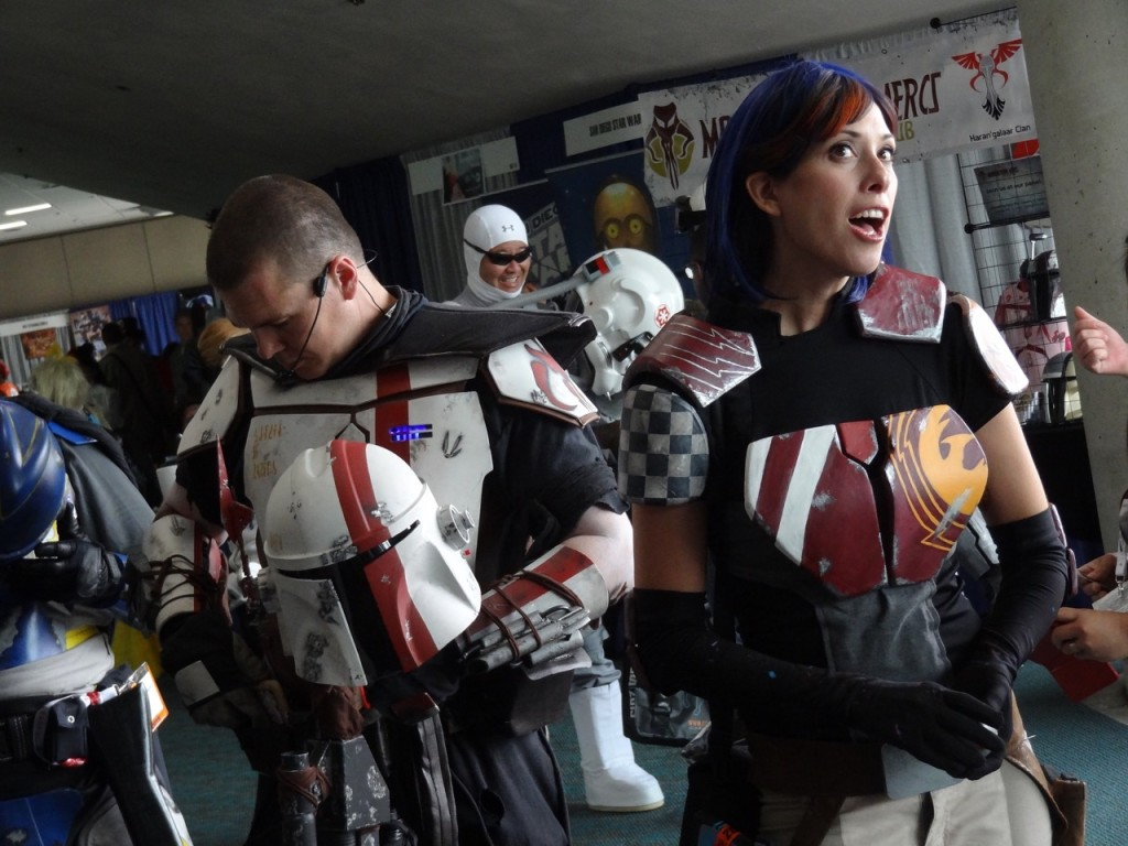 Comic-Con - Sabine and clonetrooper