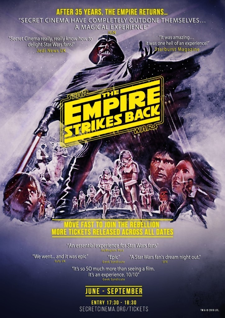 Secret Cinema: Star Wars: The Empire Strikes back